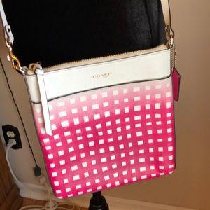 COACH hot pink crossbody- adorable 😍